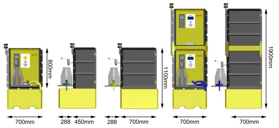 Lustor dimensions