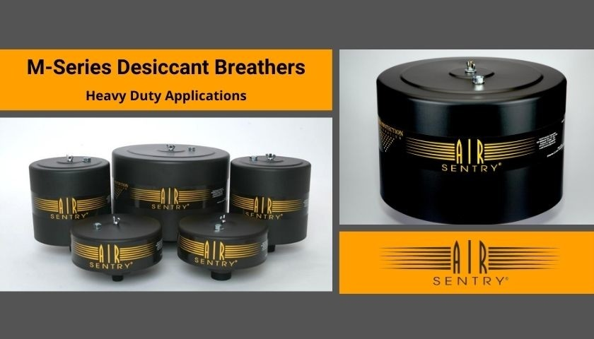 M-series desiccant breathers