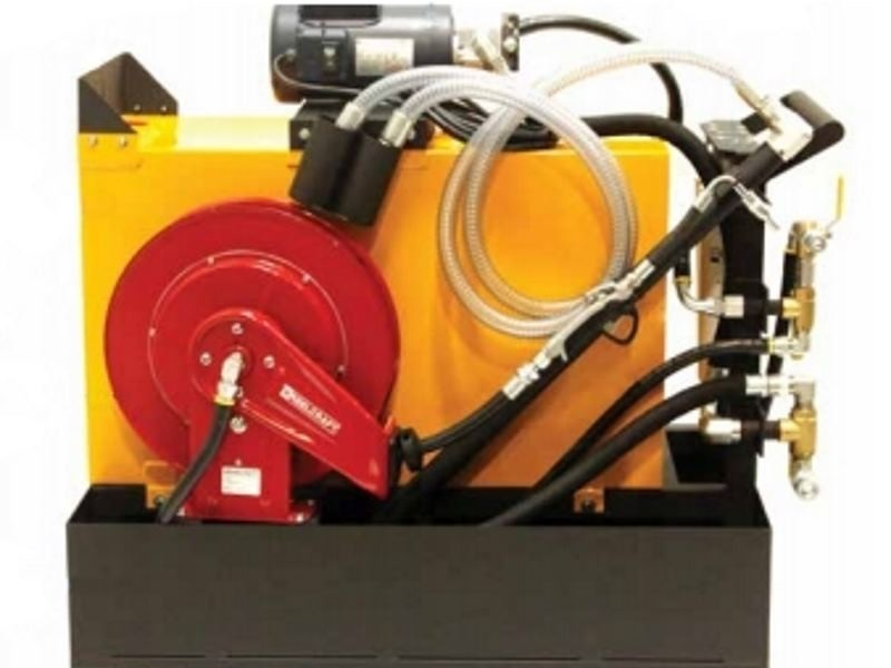 Advanced fluid handling cart OilSafe