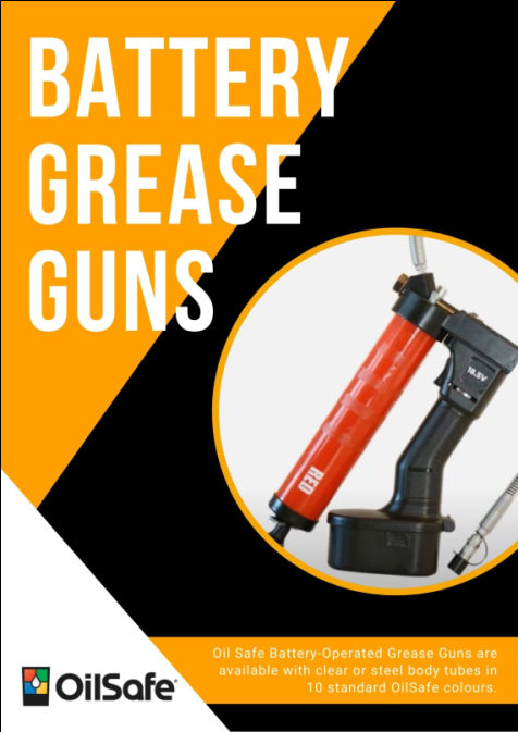 OilSafe Battery-operated Grease Guns
