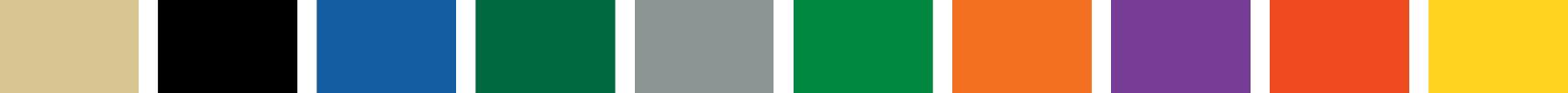 OilSafe colours