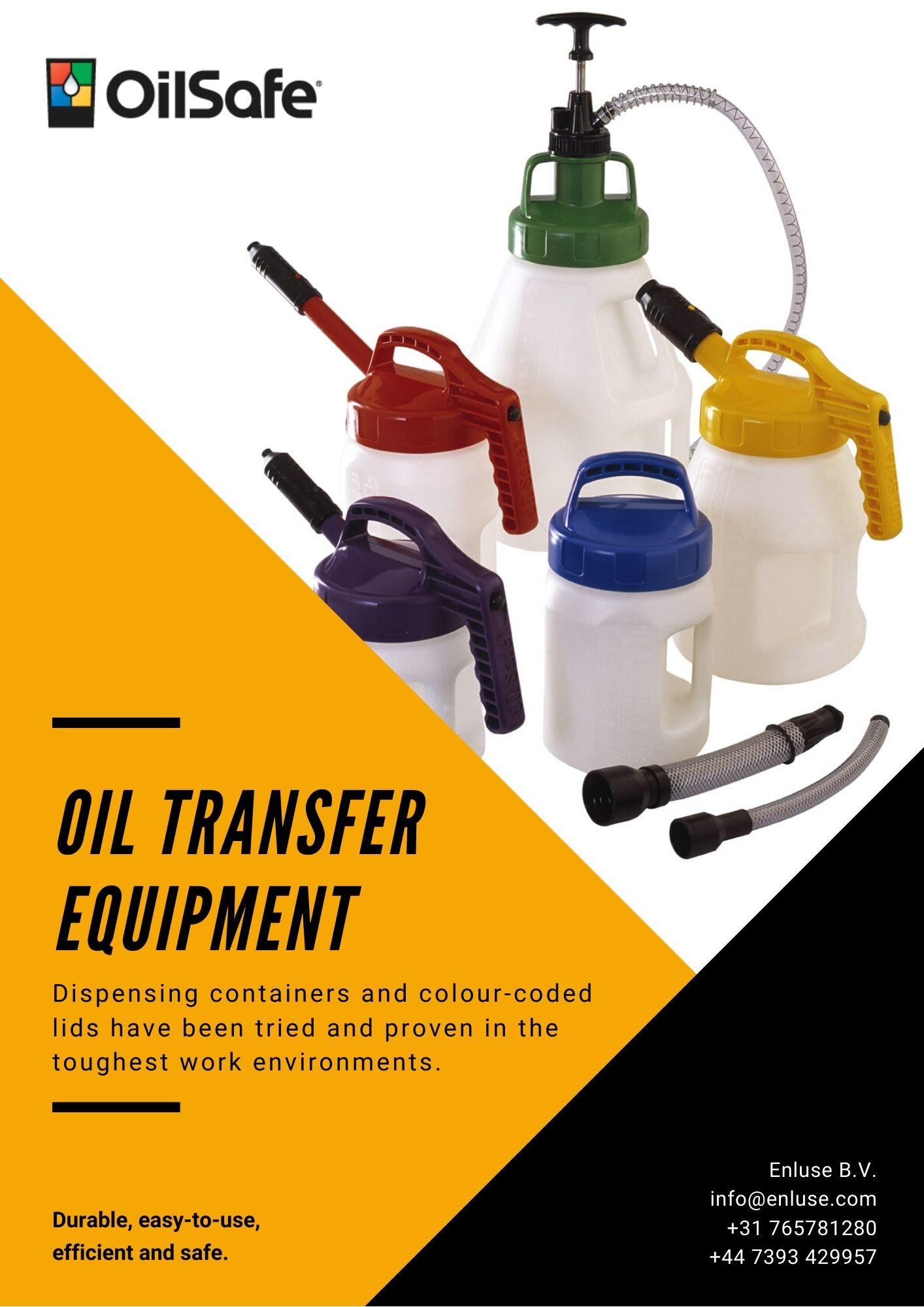 Oil Transfer Equipment OilSafe