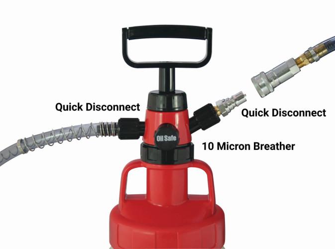Premium pump quick connect kit