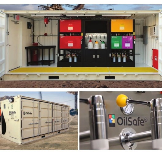 OilSafe satellite lube room