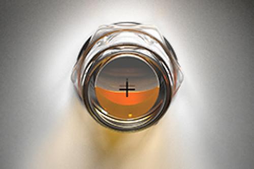 Oil sight glass (3D BullsEye)