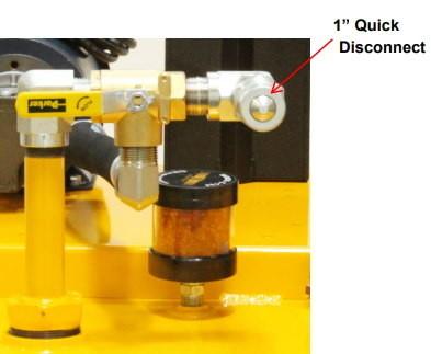 Suction valve -desiccant breather