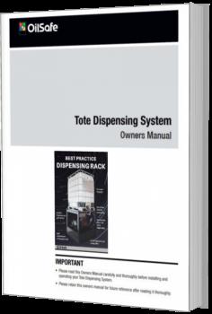 Tote dispensing rack manual OilSafe