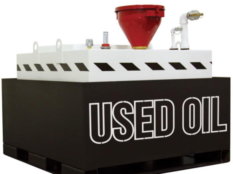 OilSafe Used Oil skid
