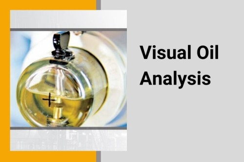 Visual oil analysis products