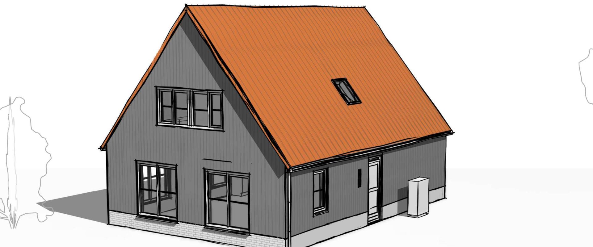 Nieuwe vrijstaande woningen Linden Erven