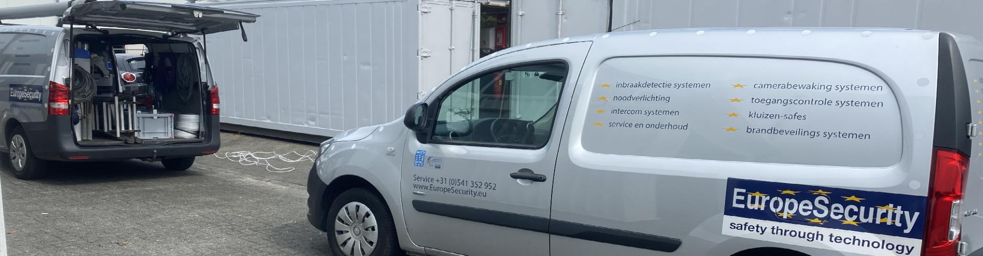 beveiliging utility containers