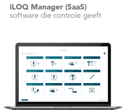 iLOQ manager sleutelbeheer