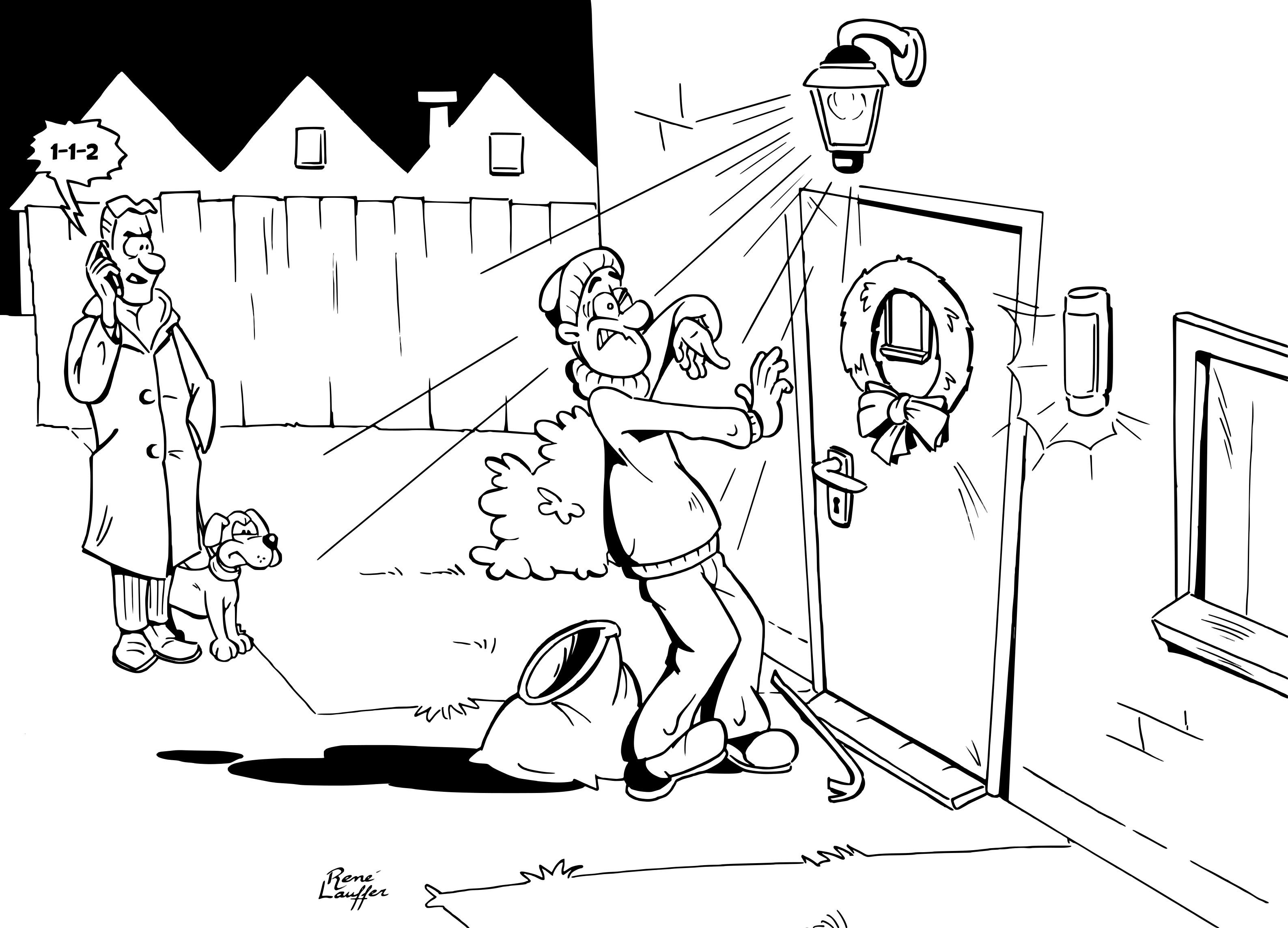 Inbrekers passen hun inbraaktijd aan - Hoe u een projector te installeren buiten ...