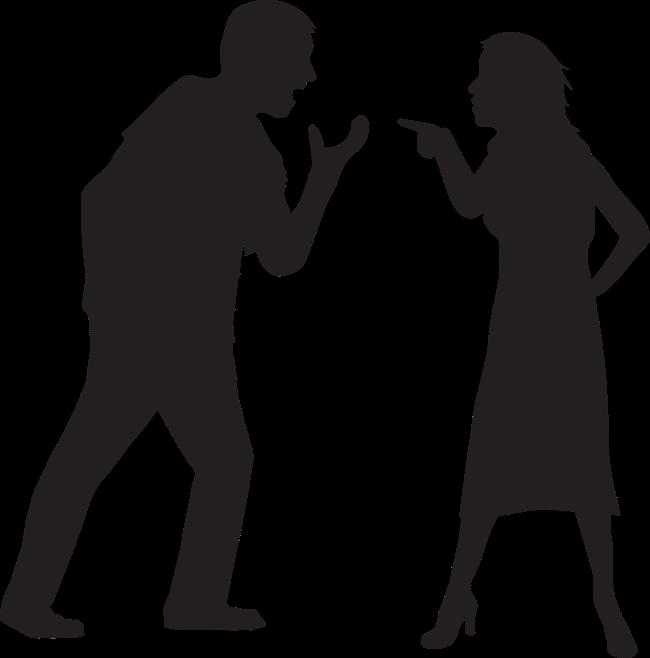 Misverstanden huis tijdens scheiding