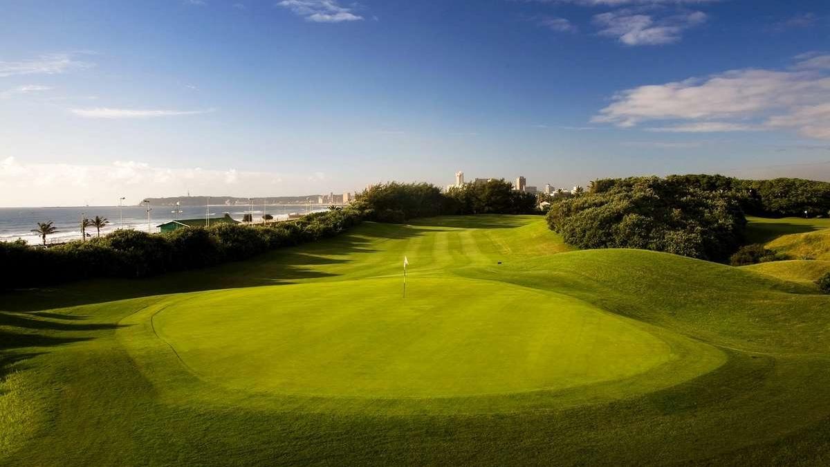 Durban Golf Course Zuid-Afrika