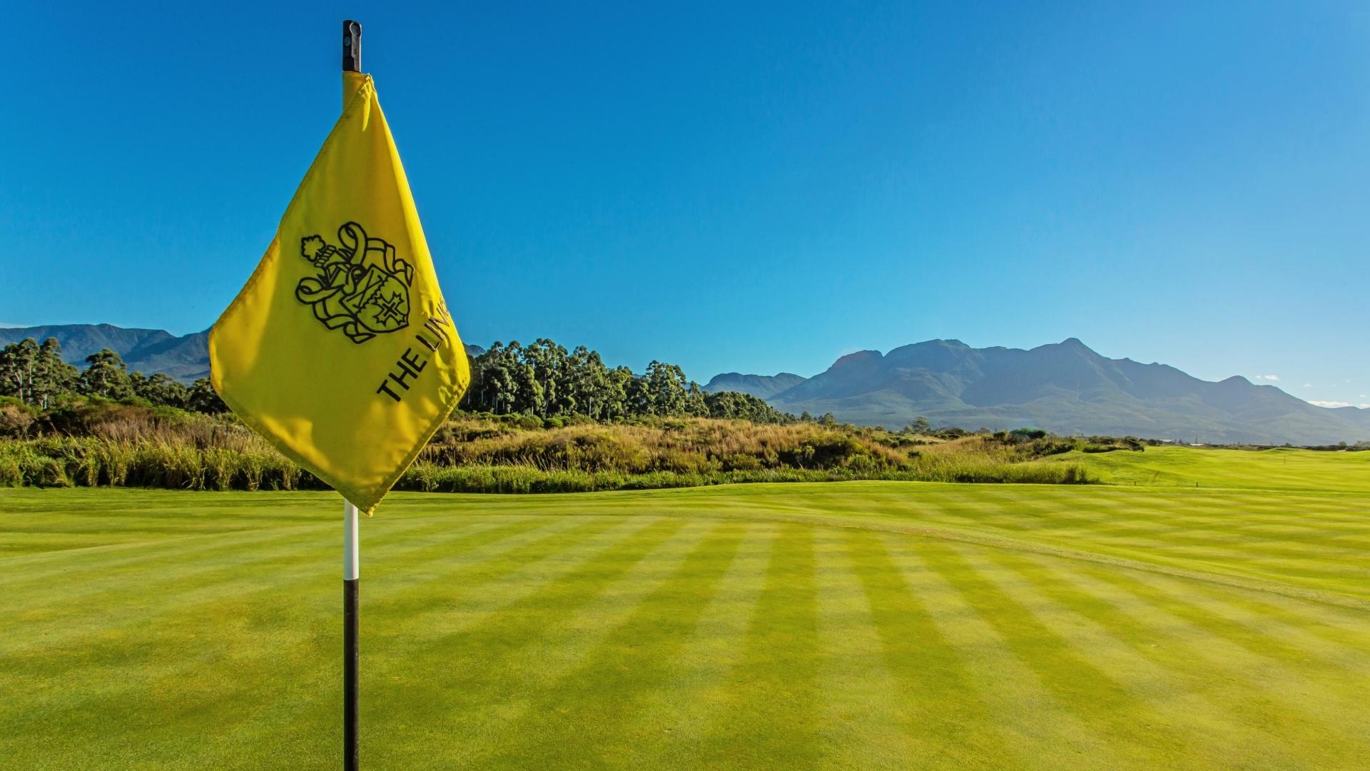 Fancourt Golf Course The Links Zuid-Afrika Vlag