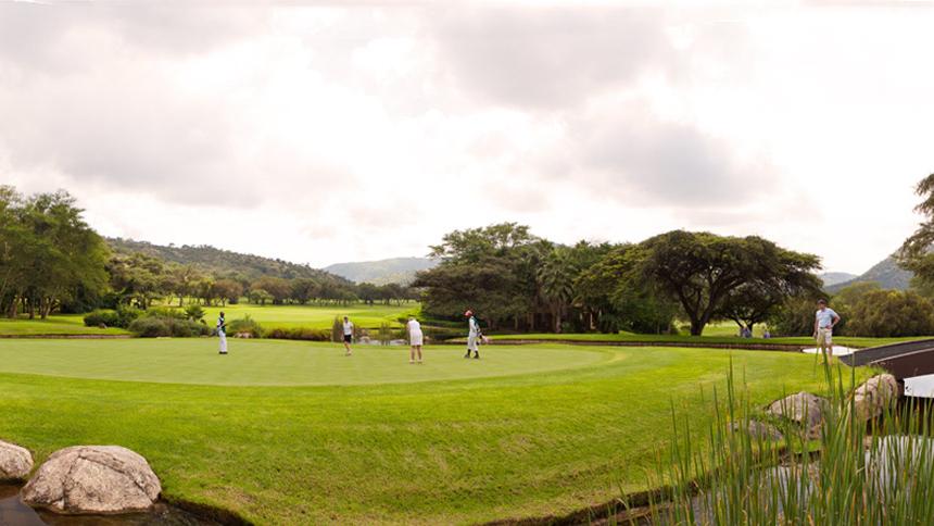 Gary Player Golf Course Zuid-Afrika