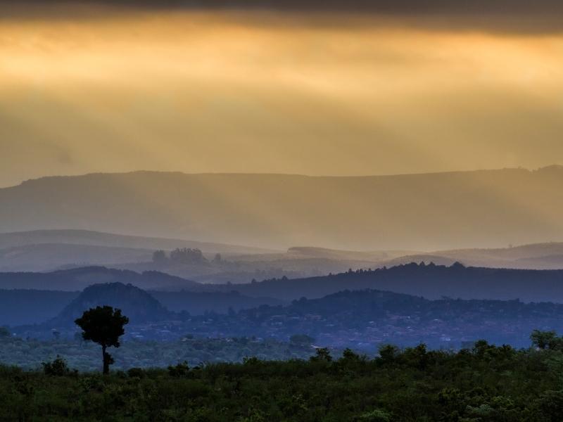 Uitzicht Kruger National Park - Luxe Safari Zuid-Afrika
