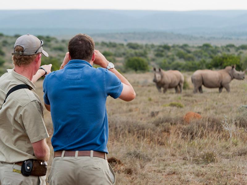 Kwandwe Game Reserve - Luxe Safari Zuid-Afrika - Nature Walk