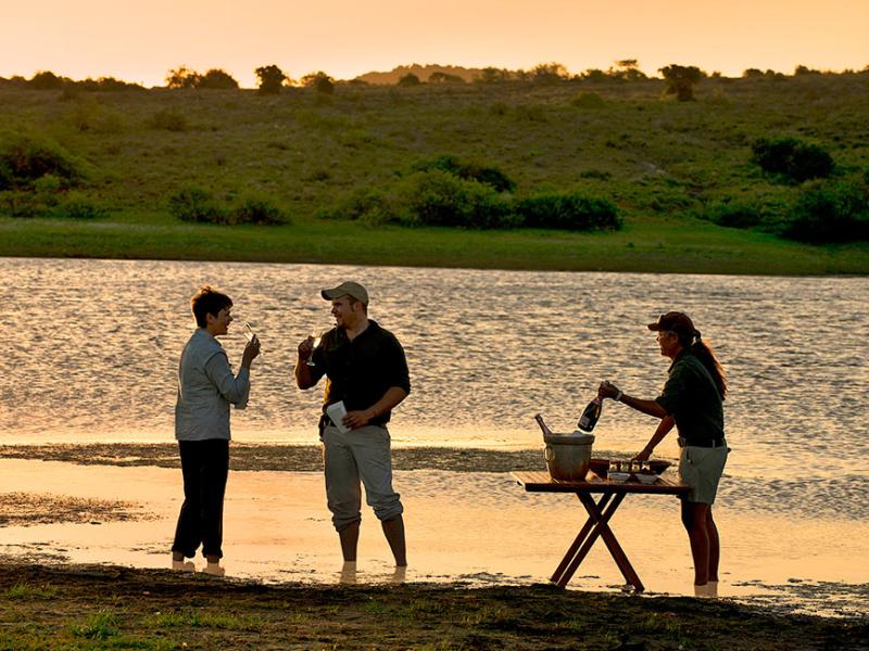 Kwandwe Game Reserve - Luxe Safari Zuid-Afrika - Drinks