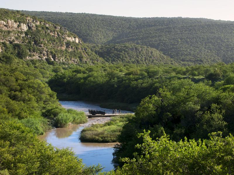 Kwandwe Game Reserve - Luxe Safari Zuid-Afrika - Rivier