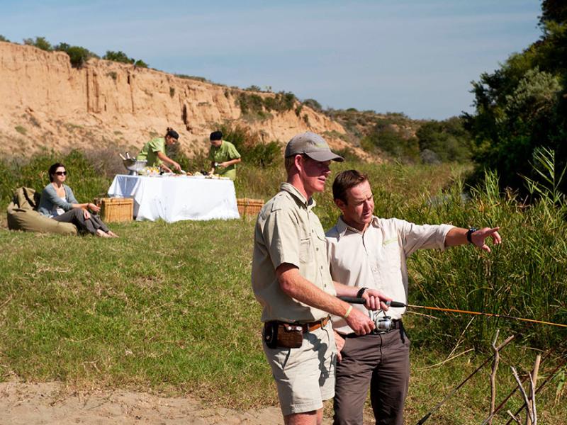 Kwandwe Game Reserve - Luxe Safari Zuid-Afrika - Vissen