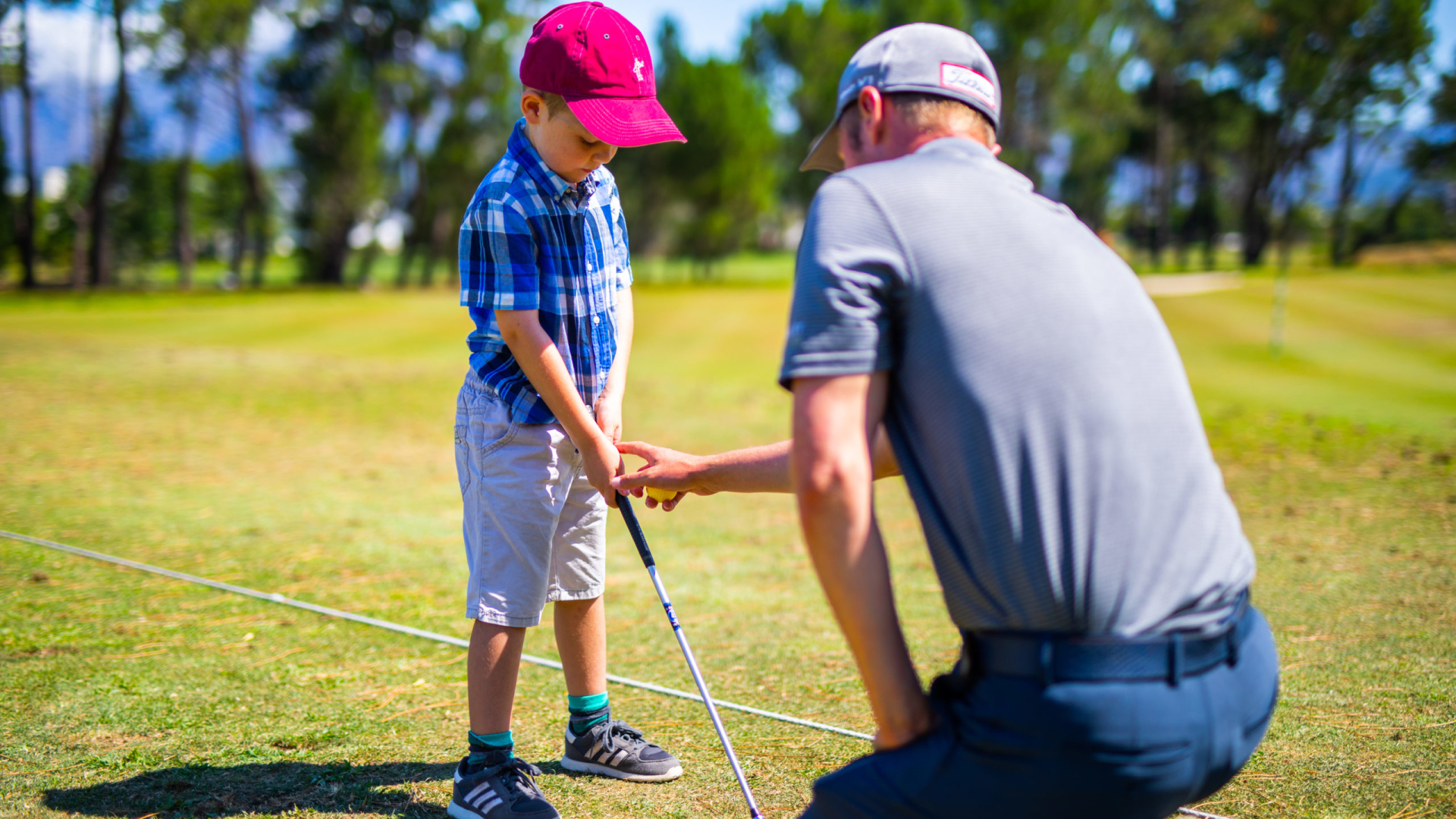 Pearl Valley Golf Course Zuid-Afrika Kids