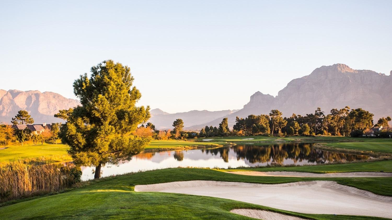 Pearl Valley Golf Course Zuid-Afrika Uitzicht
