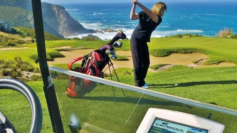 Pezula Golf Course Zuid-Afrika Golfer