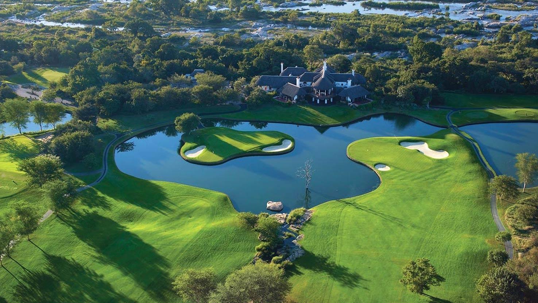 Leopard Creek Golf Course Zuid-Afrika