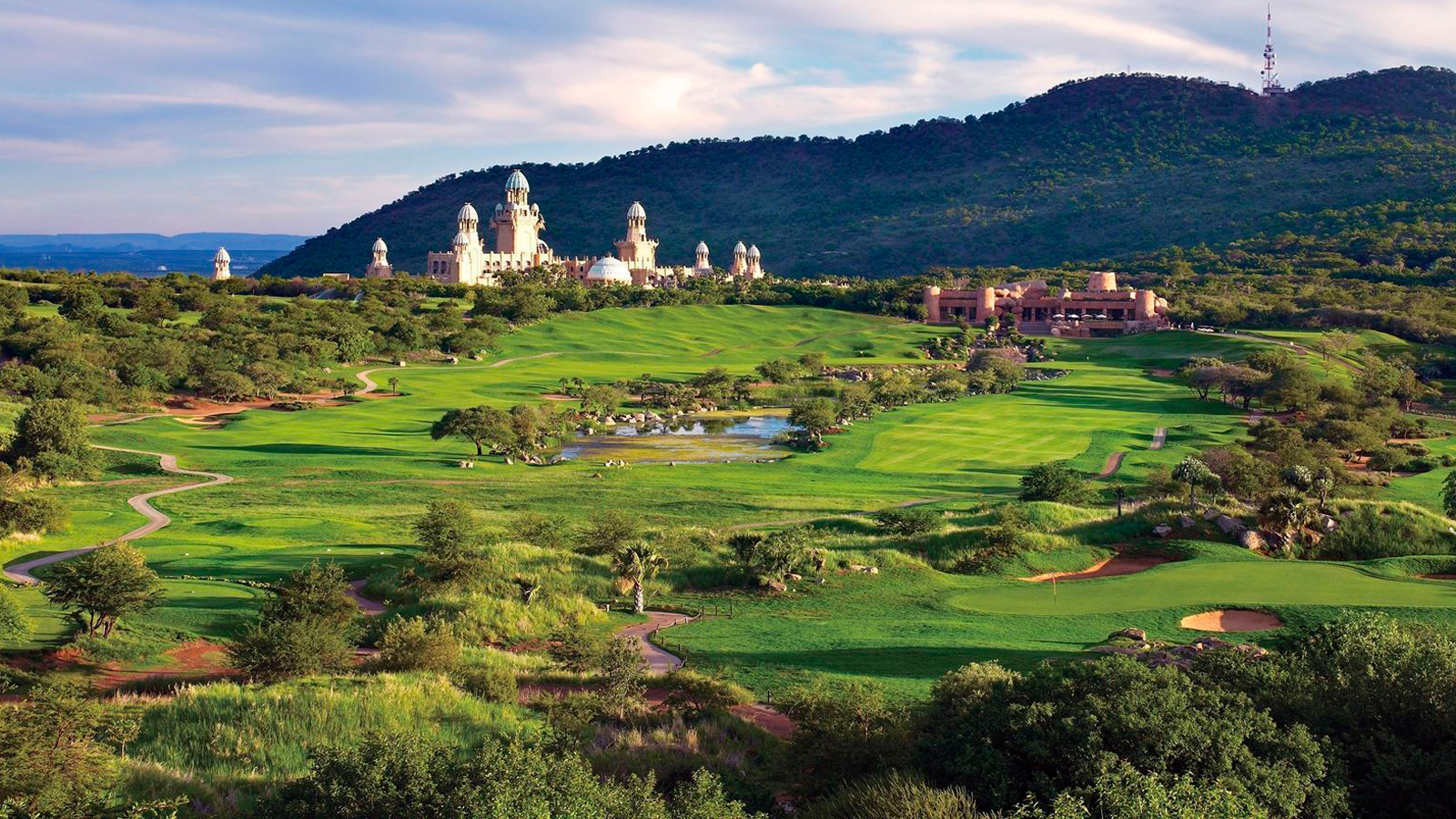 Lost City Golf Course Zuid-Afrika