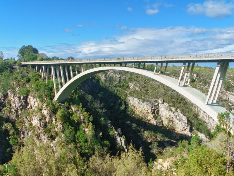Tsitsikamma National Park - Luxe Safari Zuid-Afrika - Brug