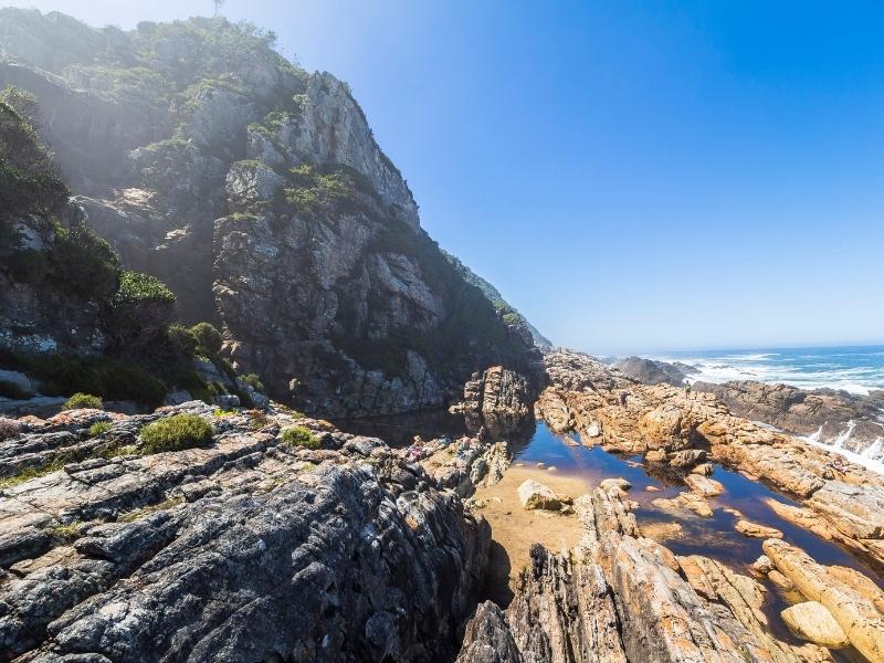 Tsitsikamma National Park - Luxe Safari Zuid-Afrika - Rocks