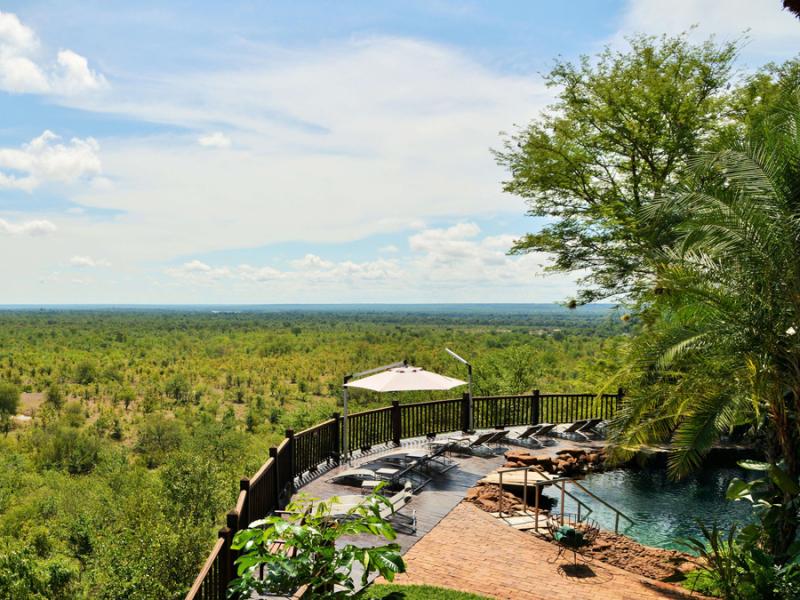 Victoria Falls Safari Lodge - Luxe Accommodatie Zambia