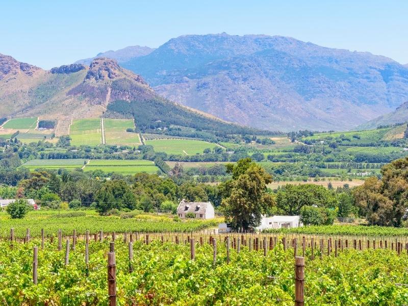 Franschhoek - Zuid-Afrika Steden en Dorpen