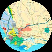 kaart-wijnregios-zuid-afrika