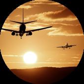 planes-sunset