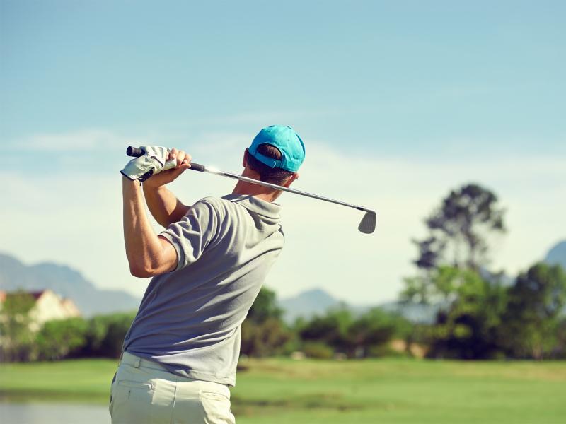 golfen in zuid afrika golfer