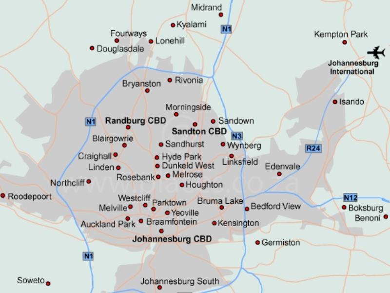 kaart-johannesburg