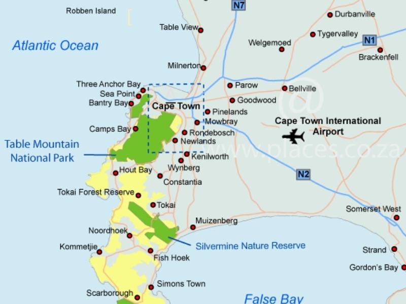 kaart-peninsula