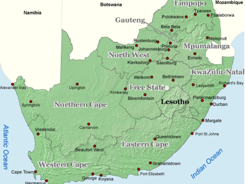 kaart-provincies