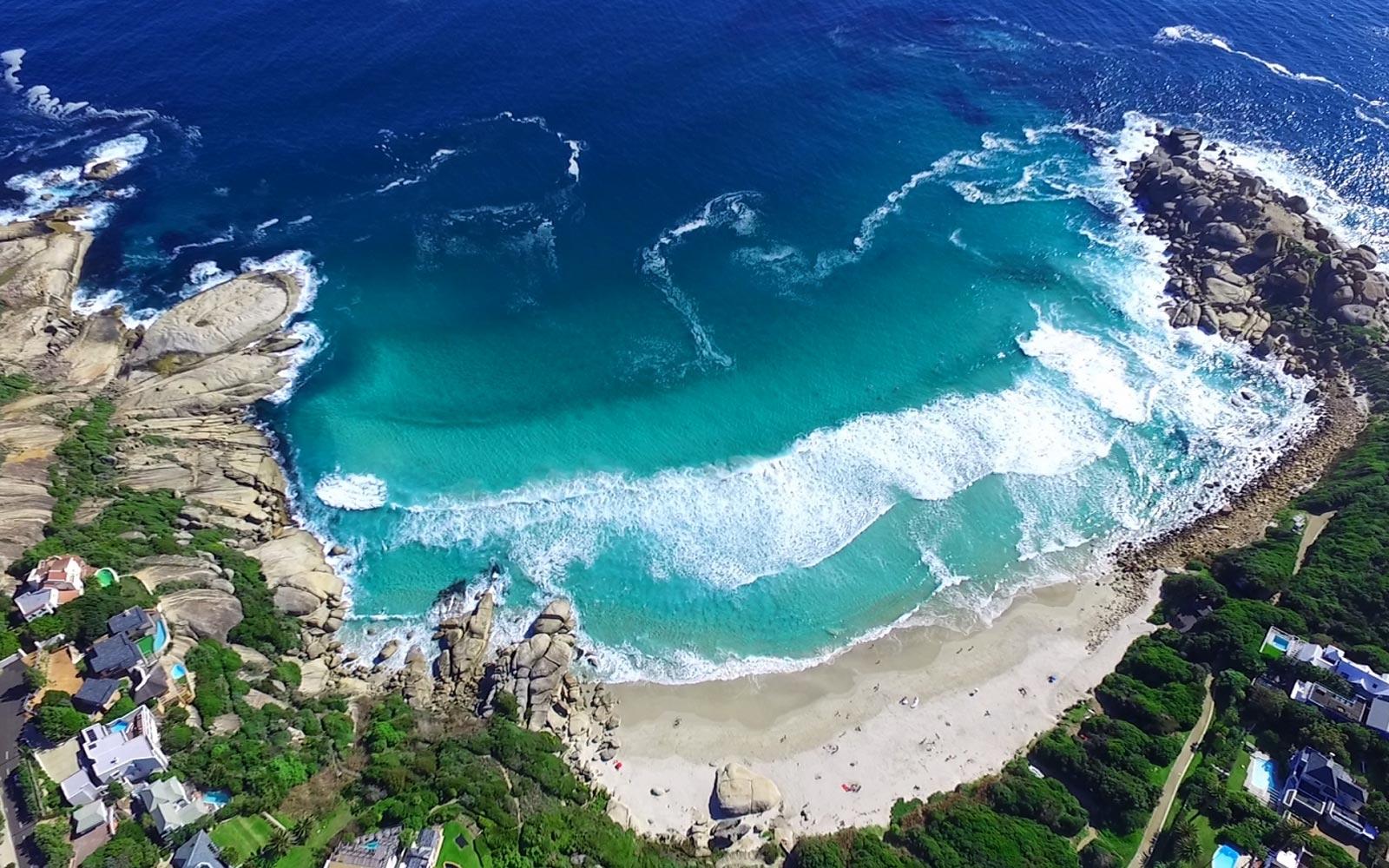 LLandudno Beach strand bij Kaapstad