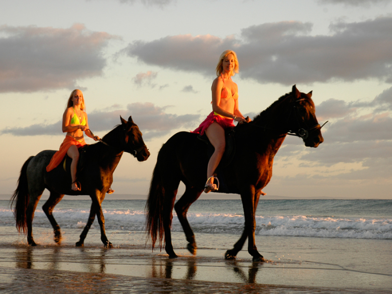 mozambique paardrijden