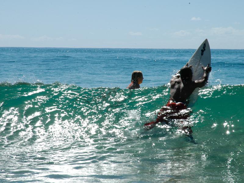 mozambique surfen