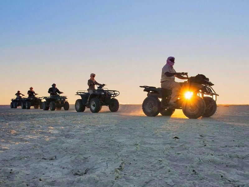 quatbike rijden in zuid afrika strand