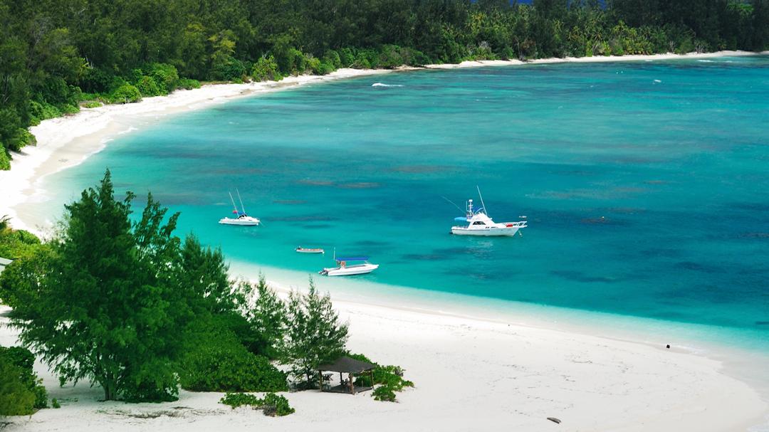buurlanden seychellen zuid afrika denis island
