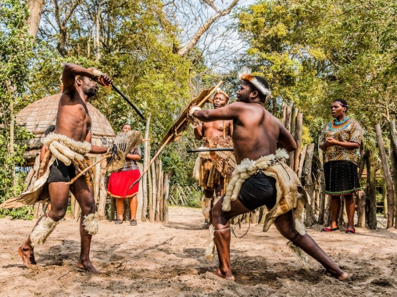 St Lucia zuid afrika Zulu cultural tours