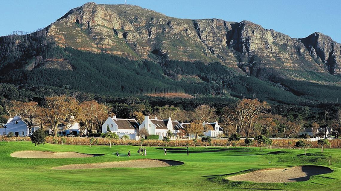 Steenberg golfbaan in Kaapstad