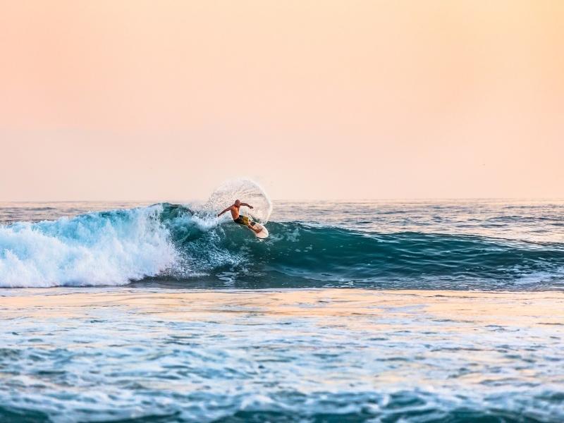 surfer-sea-sunset