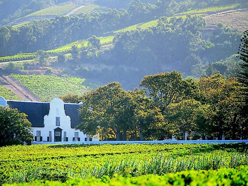 wellington zuid afrika wijnlanden